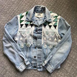 Levi's Beaded Denim Jacket